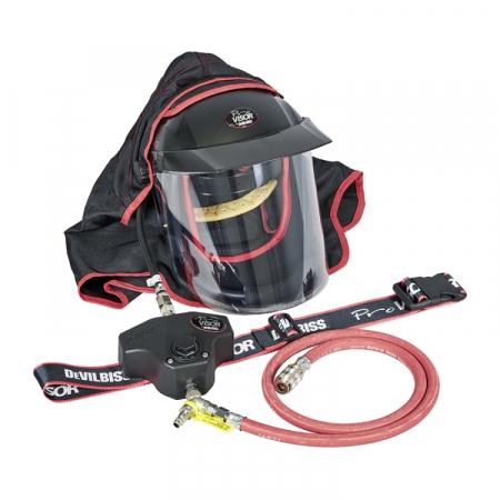 Masca protectie completa DeVilbiss Visor PROV-650 cu alimentare aer curat [1]