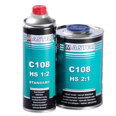 Lac acrilic HS 2:1, Master C108, cantitate 1 litru + intaritor 0.5 l [0]