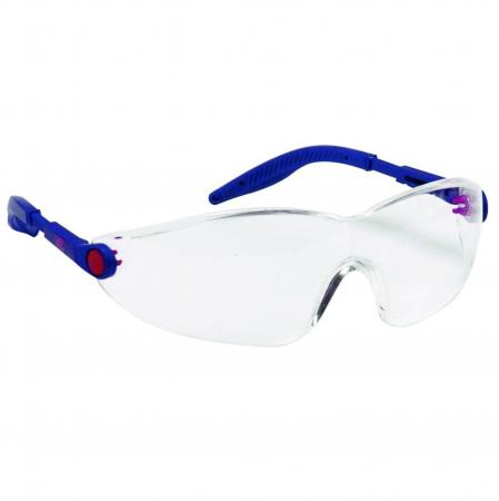 Ochelari de protectie 3M™ 2740 anticondens, antizgariere cu lentile incolore din policarbonat si filtru UV [0]