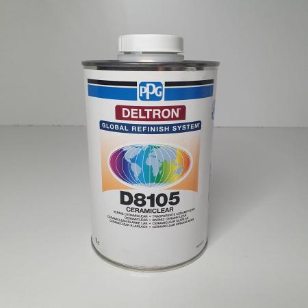 Pachet lac + intaritor, PPG D8105, Deltron Ceramic CeramiClear®, cantitate 1 litru [2]