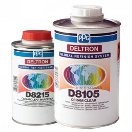 Pachet lac + intaritor, PPG D8105, Deltron Ceramic CeramiClear®, cantitate 1 litru [0]