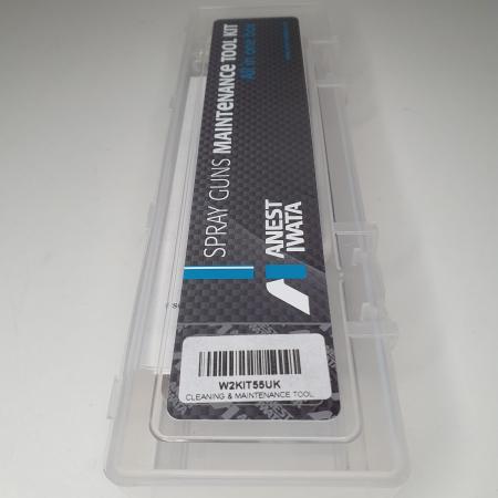 Pachet universal, Anest Iwata W2KIT55,curatat si intretinere pistol de vopsit, cutie21 piese [6]