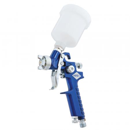 Pistol de vopsit pentru retus, Airpress 45102, cana plastic 125 ml, duza la alegere, consum aer 29-99 l/min [0]