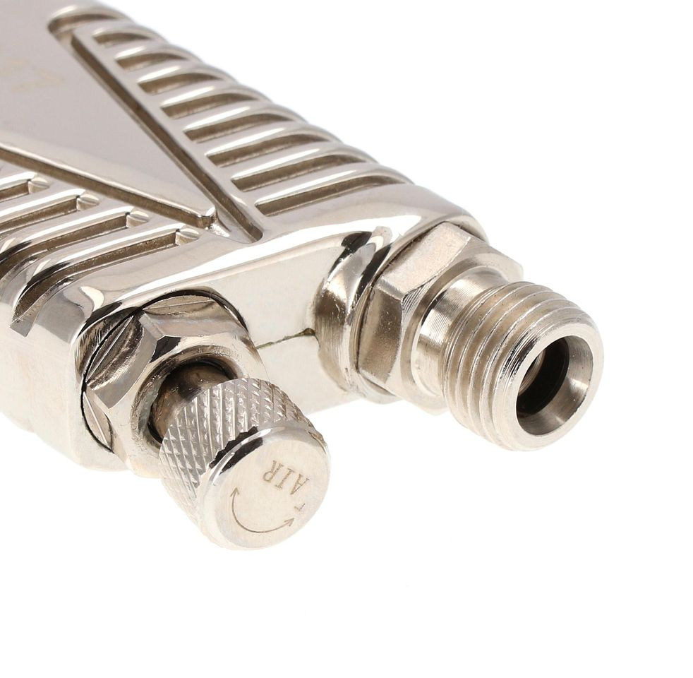 Pistol de vopsit, Airpress 45103 HP, cupa plastic 600 ml, duza la alegere, consum aer incepand cu 99 l/min [5]
