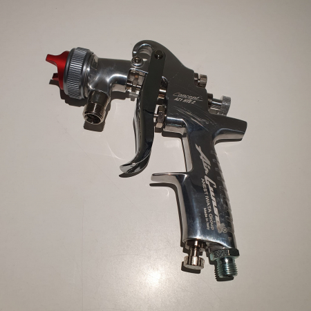 Pistol de vopsit cu prezurizare, Anest Iwata AZ1 HTE 2P, duza la alegere, consum aer 416 l/min [2]