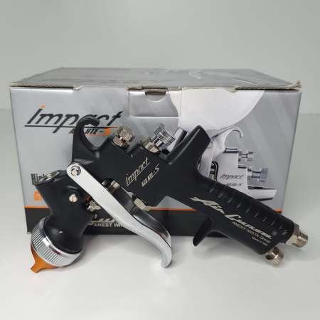 Pistol de vopsit Anest Iwata AZ3 HTE-S IMPACT Black Version Air Gunsa [2]