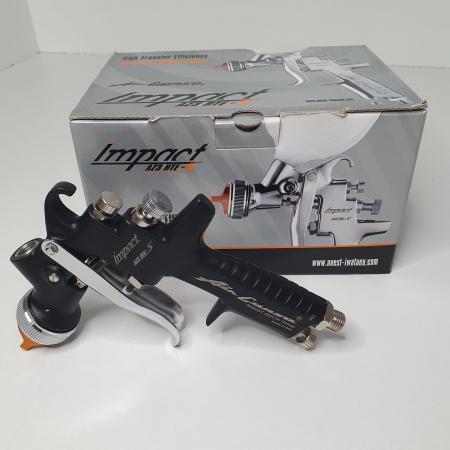 Pistol de vopsit Anest Iwata AZ3 HTE-S IMPACT Black Version Air Gunsa [9]