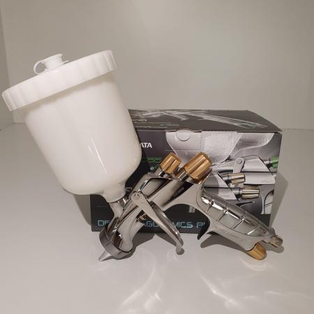 Pistol de vopsit, Anest Iwata Pininfarina WS-400 Evo Base, Pro Kit - cutie carton, cana 600 ml [2]