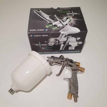Pistol de vopsit, Anest Iwata Pininfarina WS-400 Evo Base, Pro Kit - cutie carton, cana 600 ml [5]