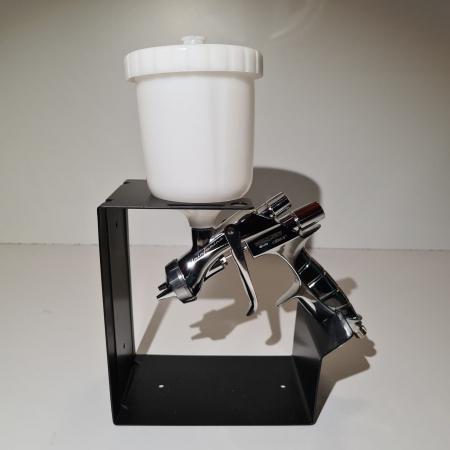 Pistol de vopsit Anest Iwata Pininfarina WS-400 Evo Clear, Master Kit - valiza, cana 600 ml, regulator presiune AFV-2 [6]