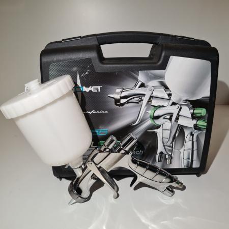 Pistol de vopsit Anest Iwata Pininfarina WS-400 Evo Clear, Master Kit - valiza, cana 600 ml, regulator presiune AFV-2 [5]