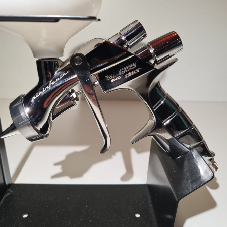 Pistol de vopsit Anest Iwata Pininfarina WS-400 Evo Clear, Master Kit - valiza, cana 600 ml, regulator presiune AFV-2 [7]