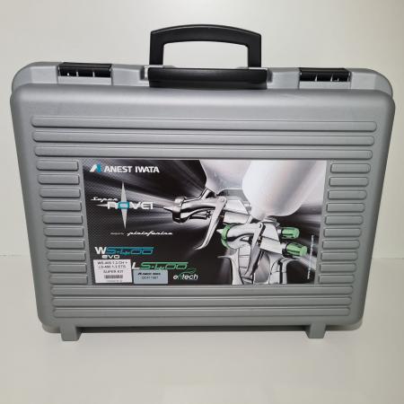 Pistol de vopsit, Anest Iwata, SuperKit 2 x Supernova WS400 Evo Clear HD 1.3 mm + LS400 Entech ETS 1.3 mm [1]