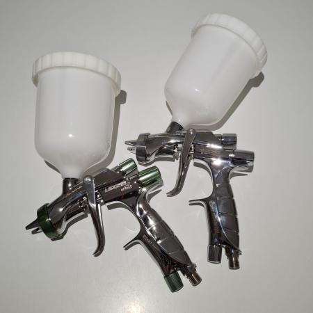 Pistol de vopsit, Anest Iwata, SuperKit 2 x Supernova WS400 Evo Clear HD 1.3 mm + LS400 Entech ETS 1.3 mm [6]