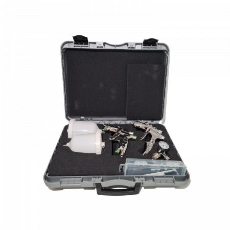 Pistol de vopsit, Anest Iwata, SuperKit 2 x Supernova WS400 Evo Clear HD 1.3 mm + LS400 Entech ETS 1.3 mm [0]