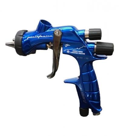 Pistol de vopsit Anest Iwata Pininfarina TurnPike Hakone pachet Master Kit, duza ø 1,3 mm, cana 600 ml, regulator presiuneAFV-210
