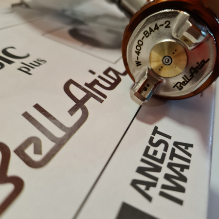 Pistol de vopsit Anest Iwata W 400 BellAria Classic Plus [2]