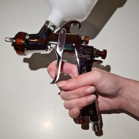 Pistol de vopsit Anest Iwata W 400 BellAria Classic Plus [7]