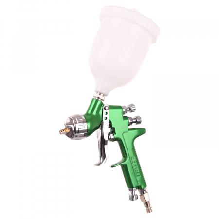 Pistol de vopsit, Italco H-929 HVLP, cupa plastic 600 ml, duza 1.3 mm, consum aer incepand cu 340 l/min [0]