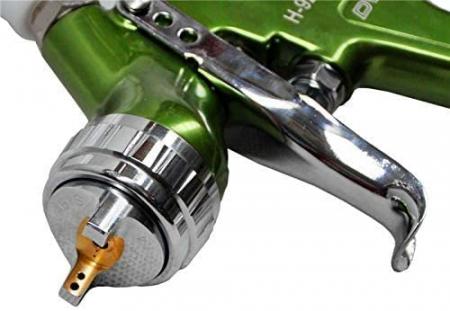 Pistol de vopsit, Italco H-929 HVLP, cupa plastic 600 ml, duza la alegere, consum aer incepand cu 147 l/min [2]