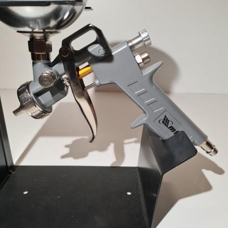 Pistol de vopsit, Matrix 573149, cana metalica 600 ml, duza 1.2, 1.5 si 1.8 mm, consum aer 75 - 230 l/min [7]