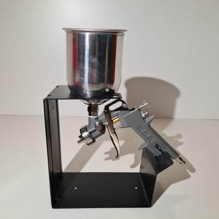 Pistol de vopsit, Matrix 573149, cana metalica 600 ml, duza 1.2, 1.5 si 1.8 mm, consum aer 75 - 230 l/min [6]