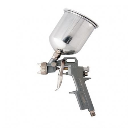 Pistol de vopsit, Matrix 573159, cana metalica 1 litru, duza 1.2, 1.5 si 1.8, consum aer 75- 230 l/min [0]