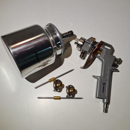 Pistol de vopsit, Matrix 573179, cana jos metalica 750 ml, duza 1.2, 1.5 si 1.8 mm [5]