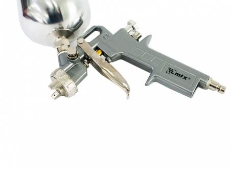 Pistol de vopsit Matrix cana metalica 600 ml2