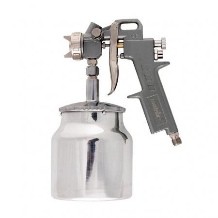 Pistol de vopsit Matrix, cana jos metalica 1 litru [0]