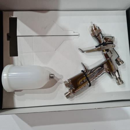 Pistol de vopsit pentru retus, Anest Iwata LPH-80, cupa plastic 70 ml, duza 0.6 - 1.2 mm, consum aer 60 l/min [3]