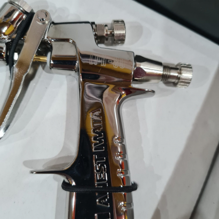 Pistol de vopsit pentru retus, Anest Iwata LPH-80, cupa plastic 70 ml, duza 0.6 - 1.2 mm, consum aer 60 l/min [4]