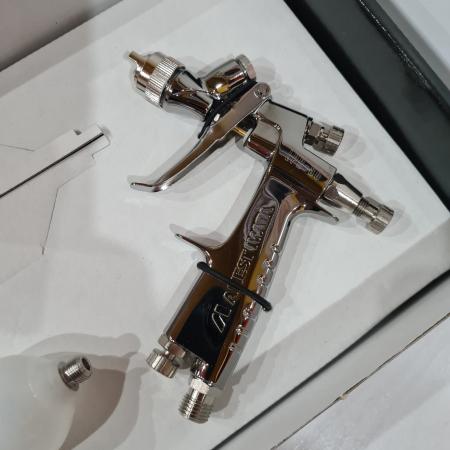 Pistol de vopsit pentru retus, Anest Iwata LPH-80, cupa plastic 70 ml, duza 0.6 - 1.2 mm, consum aer 60 l/min [1]