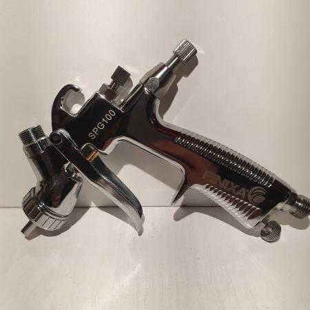 Pistol de vopsit pentru retus, Finixa SPG 100, cupa plastic 100 ml, consum aer 75 l/min [2]