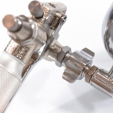 Pistol de vopsit pentru retus, Matrix 573189, cupa metal 200 ml, duza 0.5 mm, consum aer 35 l/min [1]