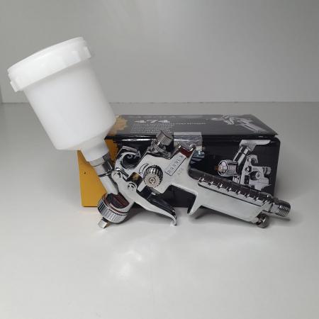 Pistol de vopsit pentru retus, Spray Gun 474, cupa plastic 125 ml, consum aer de la 45 l/min [3]
