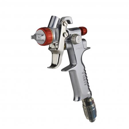 Pistol de vopsit pentru retus, Spray Gun 475 XTECH, cupa plastic 125 ml, duza la alegere, consum aer de la 100 l/min [1]