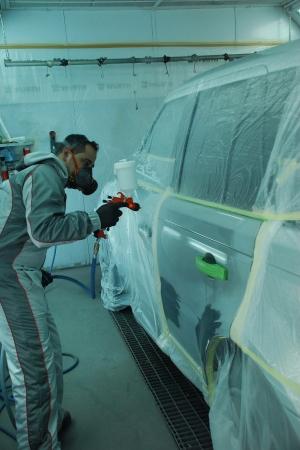 Pistol de vopsit Sagola 3300 GTO Car Tech LAC + Manometru2