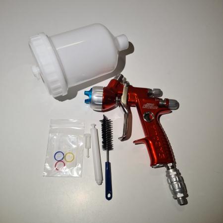 Pistol de vopsit, Sagola 4600 DVR AQUA, air cap DVR AQUA, cupa 650 g, duza 1.2 mm [3]