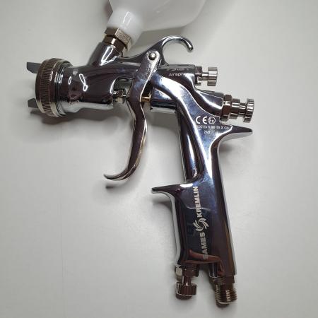 Pistol de vopsit, Sames Kremlin FSTART G Conventional, cupa plastic 600 ml, duza la alegere, consum 386 l/min [7]