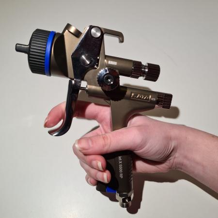 Pistol de vopsit SATAjet® X 5500 RP pentru lac RPS (fara cana) duză tip O [6]