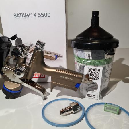 Pistol de vopsit SATAjet® X 5500 RP pentru lac RPS (fara cana) duză tip O [3]