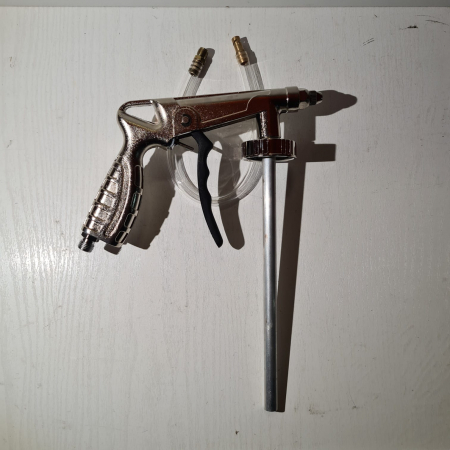 Pistol insonorizant, SOLL SC-5514,  pentru aplicat insonorizant sau ceara cavitati, contine furtun 51 cm [2]
