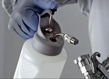 Pompa pulverizat Anest Iwata HCA12.0 High Quality Silver (WB) 1 litru2