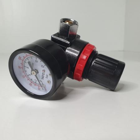 Regulator de presiune  cu manometru mecanic,Yato YT-2381, montare pe furtun [5]