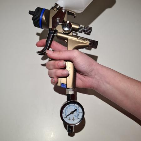 Regulator de presiune aer cu manometru mecanic, StarchemSPG-25, montare pe furtun, cupla 1/4, maxim 10 bar3