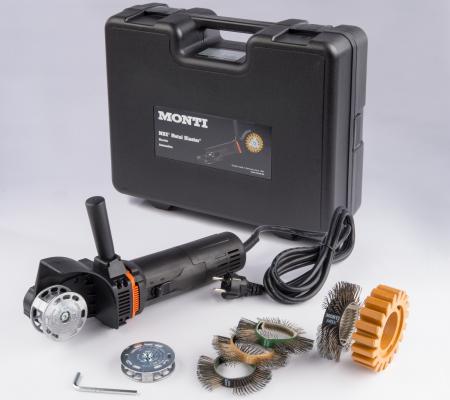 Scula electrica Monti MBX® Electric Set SE-206-BMC Standard Duty curatat si pregatit suprafete, putere 700 W, alimentare 230 V1