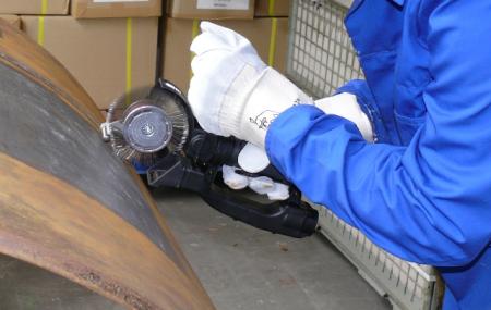 Curea carbon spring steel Monti BB-033-05 pentru scula electrica Monti Bristle Blaster® curatat si pregatit suprafete, pachet 5 bucati, 23 mm2