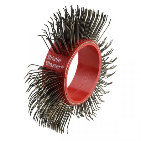 Curea carbon spring steel Monti BB-033-05 pentru scula electrica Monti Bristle Blaster® curatat si pregatit suprafete, pachet 5 bucati, 23 mm0