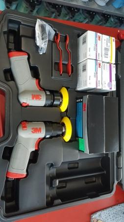 Set complet reconditionat faruri 3M™ de polisare faruri, PN50663 Ø 75 mm3
